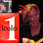 Intervista alla Web Radio Articolo 1 della CGIL  condotta da Antonia Fama