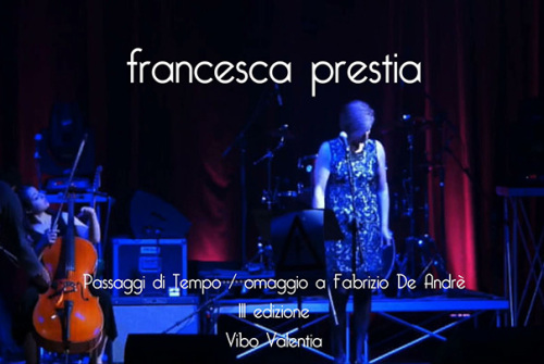 Passaggi di tempo (VV), omaggio a Fabrizio De Andrè