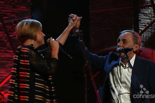 Francesca Prestia e Roberto Vecchioni a Musicultura 2015