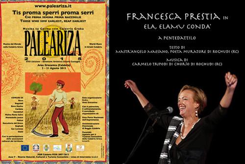 Francesca Prestia in ELA, ELAMU CONDA'